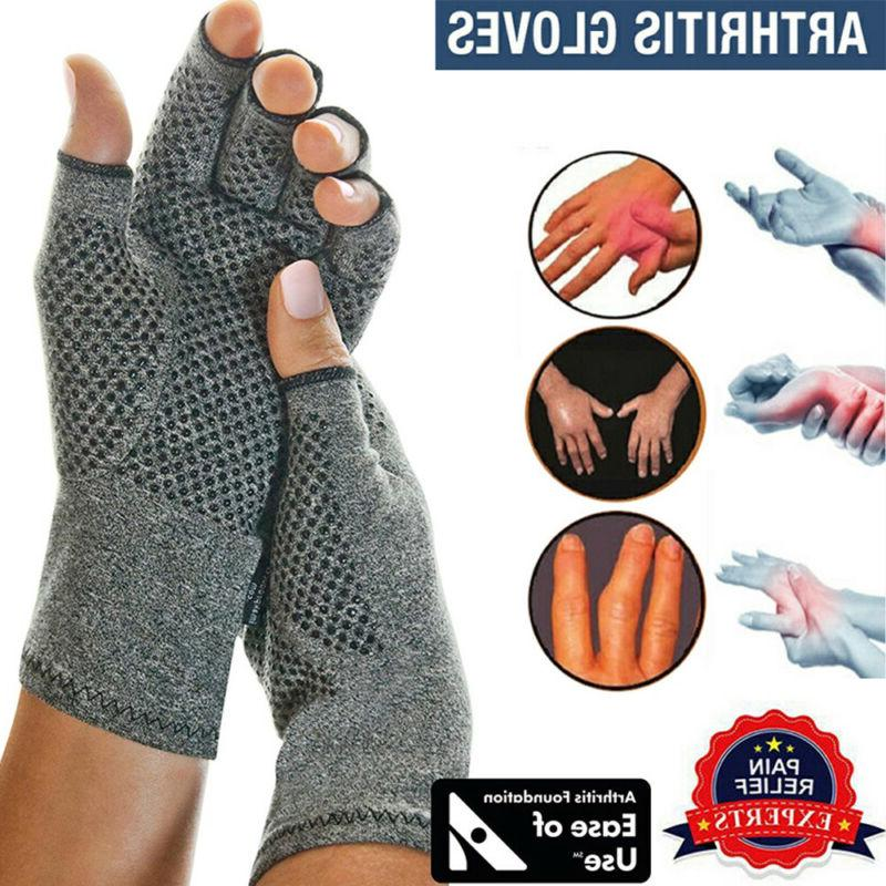 copper compression gloves carpal tunnel arthritis pain