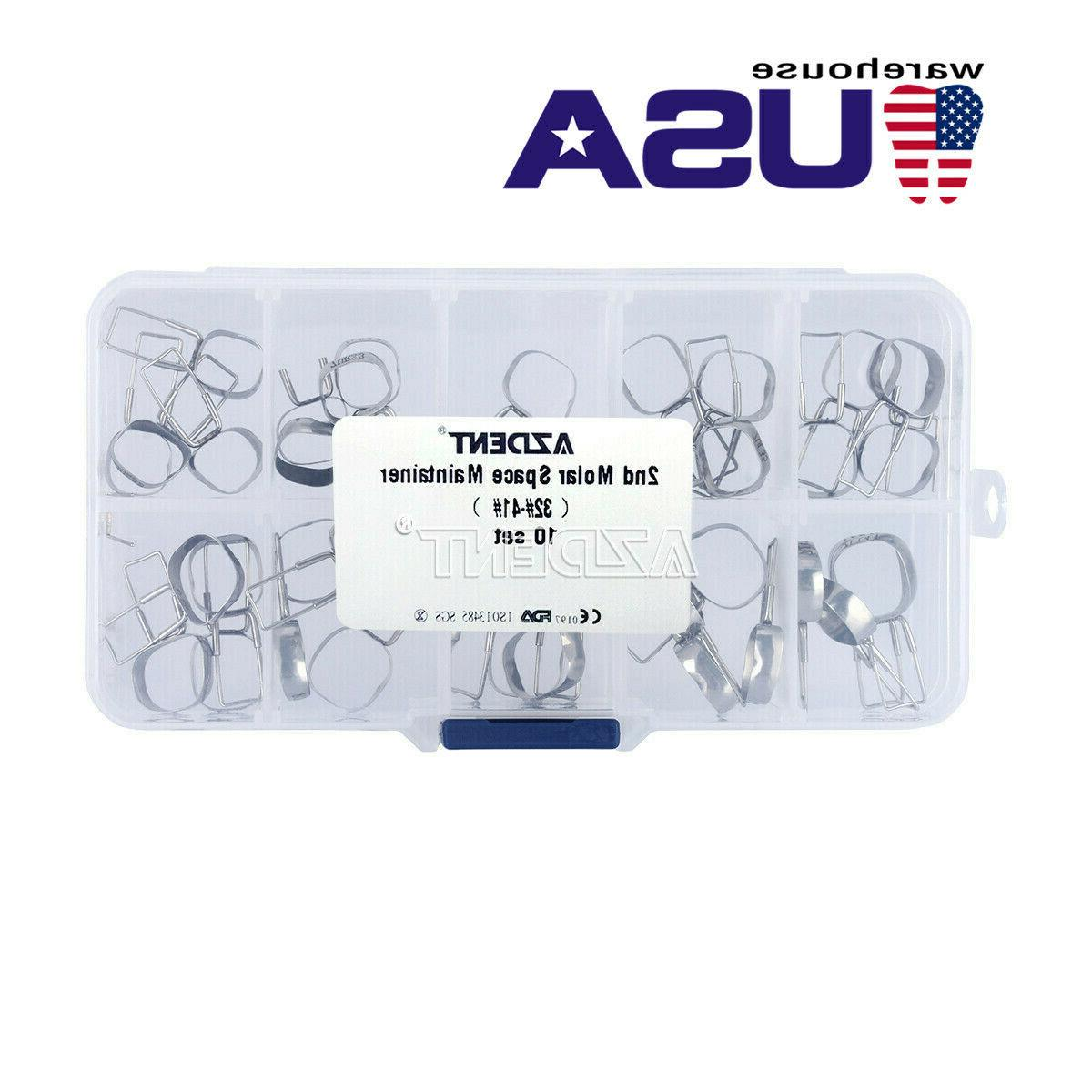 dental orthodontic braces preformed space maintainer band