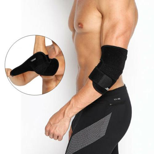 Compression Recovery Elbow Sleeve Neoprene Support Brace Wor