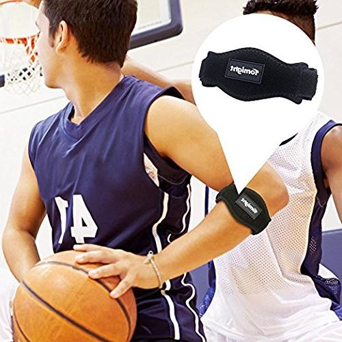 Tomight Elbow Brace, Elbow Brace with Pad Both and