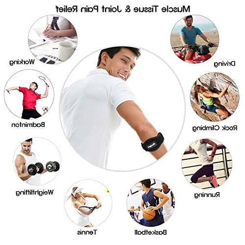 Tomight Tennis Elbow Pad Both Men and Women
