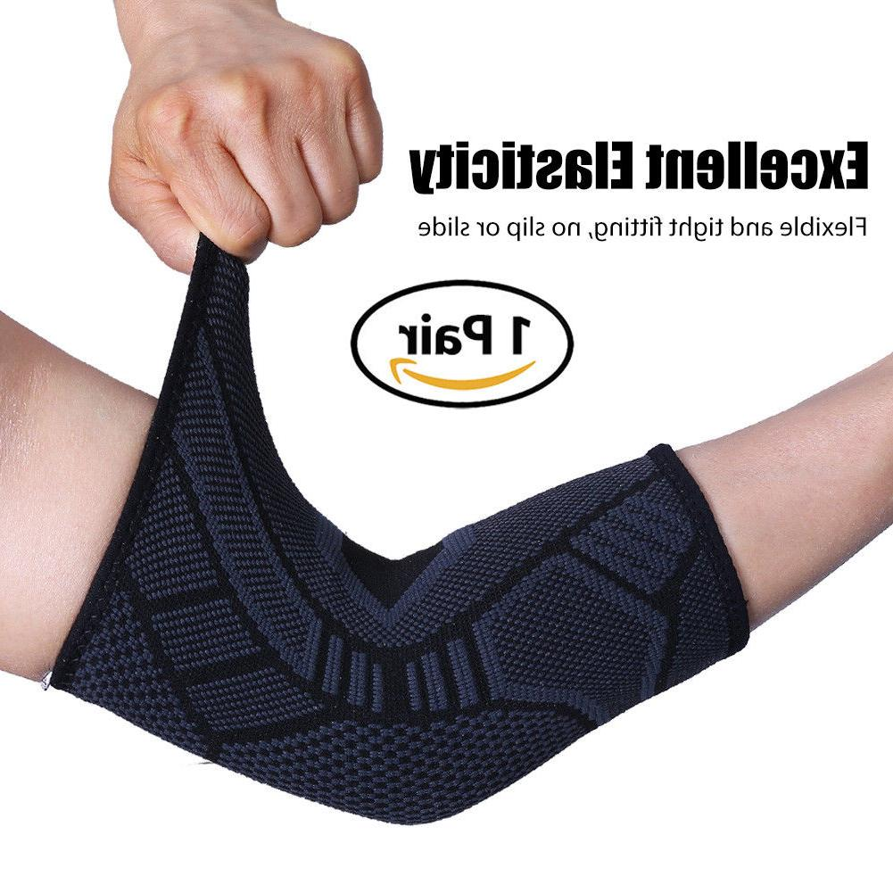 Elbow Compression Sleeve Support Brace Relief For Women
