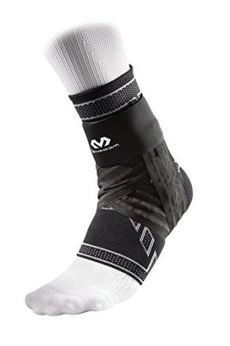 elite engineered elastic ankle brace with figure