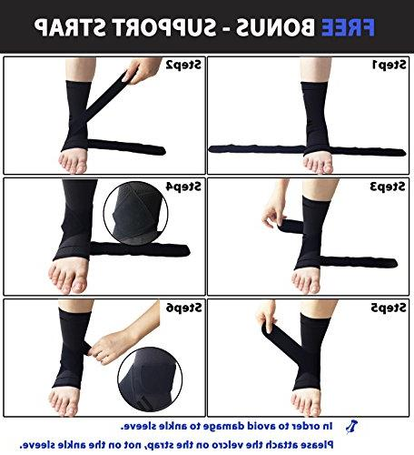 gonicc Professional Pair with Wrap Soothe Achy Feet, Brace