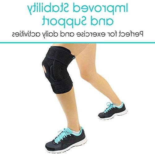 Vive Hinged Knee - Support for Tendon, Injuries - for and Joint Problems