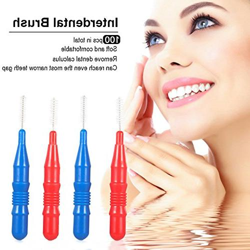 Interdental Slim Dental Hygiene Brush 100