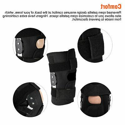 Knee Compression Sleeve Joint Patella Stabilizer Wrap