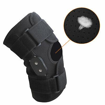 Knee Hinged Compression Sleeve Joint Open Patella