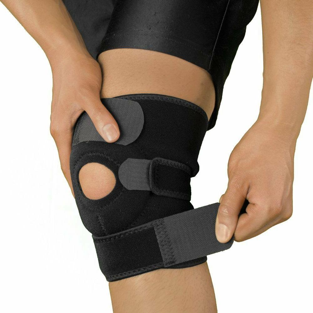 knee brace patella elastic fastener support kneecap