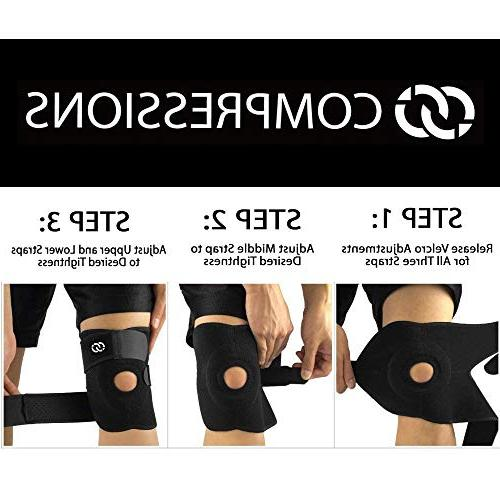 Compressions Stabilizer with Adjustable - for Sports, Men & Women
