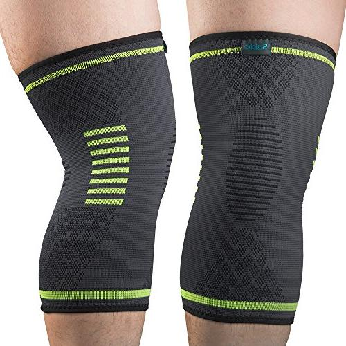 Sable Knee Compression Sleeves, FDA Registered for Pain Basketball )