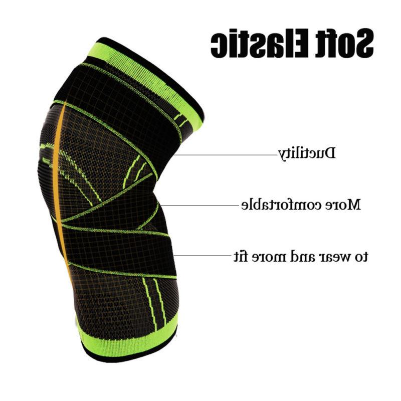 Knee Compression Brace Patella Support Gym Pain