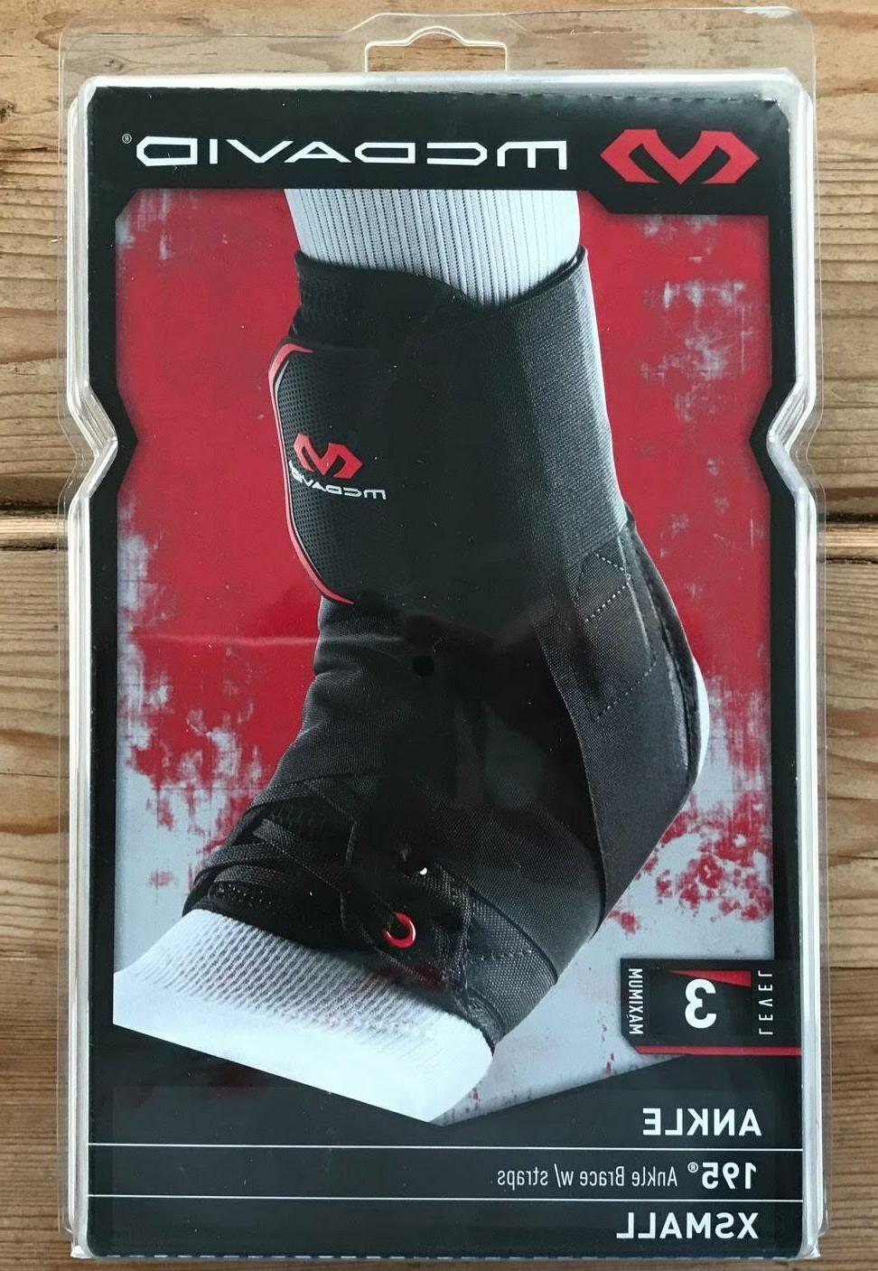 McDavid Level 3 Maximum Strength Neoprene Ankle Brace XS Bla