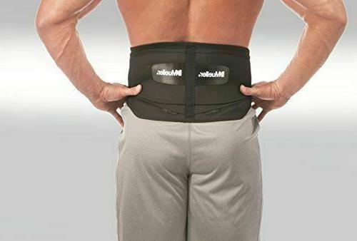 Mueller Support Back Brace with Pad waist