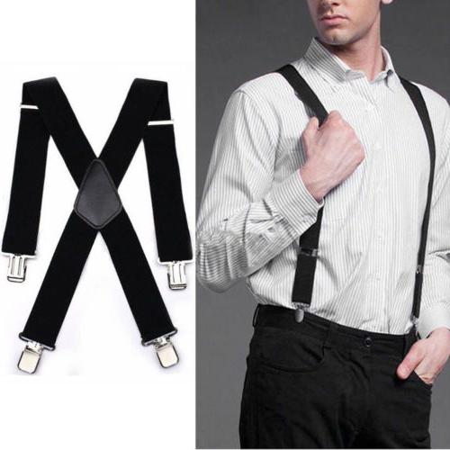 Mens Style Very Strong Clips Fits Heavy Braces