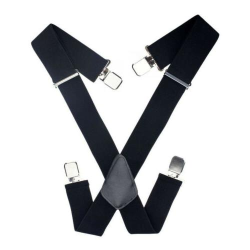 Mens Suspenders Very Clips Fits All