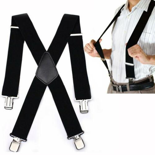 mens suspenders x style very strong clips