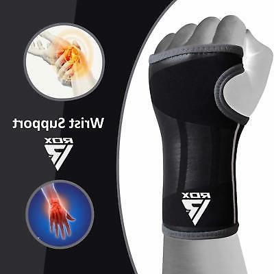 neoprene silicon wrist brace support weight lifting