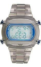 Adidas Nylon Candy Digital Grey Dial Unisex watch #ADH6509