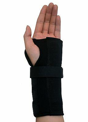 One Pair Wrist Supports w/ Carpal Braces - Left