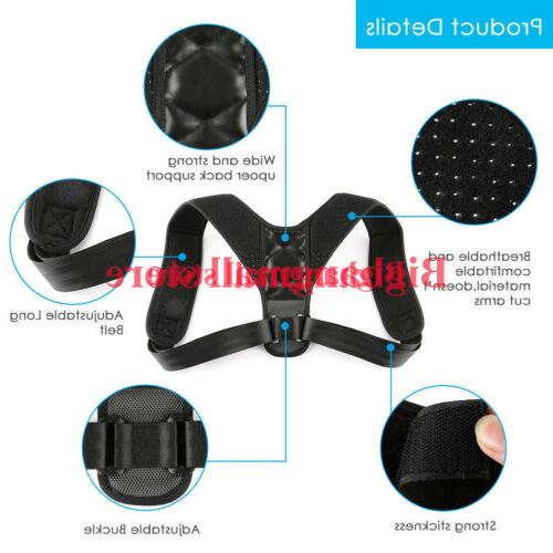 Posture Corrector Support Back Shoulder Belt