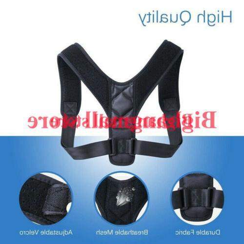 Posture Corrector men Back Shoulder Brace Belt Adjustable