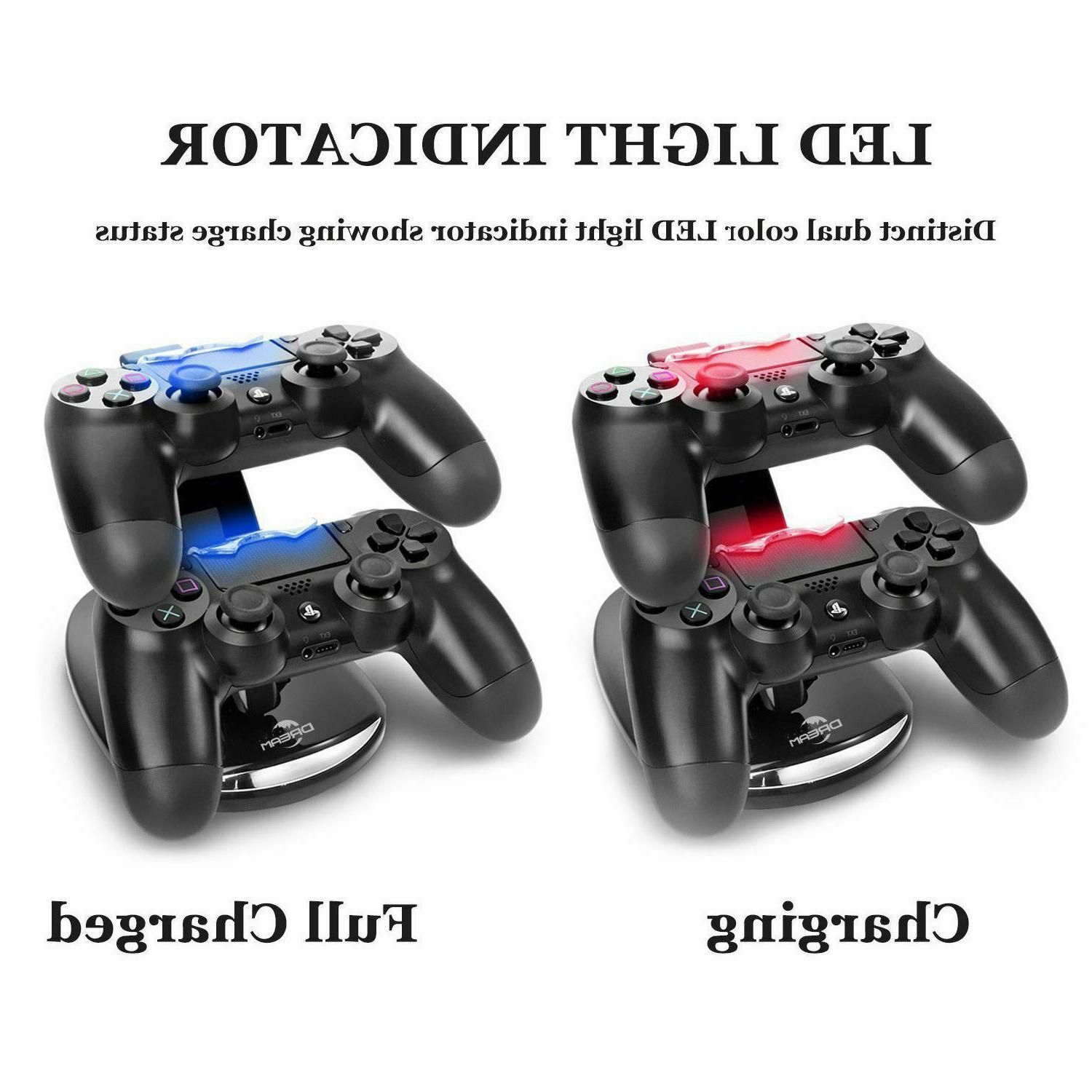 For PlayStation4 Dual Station Fast Charging