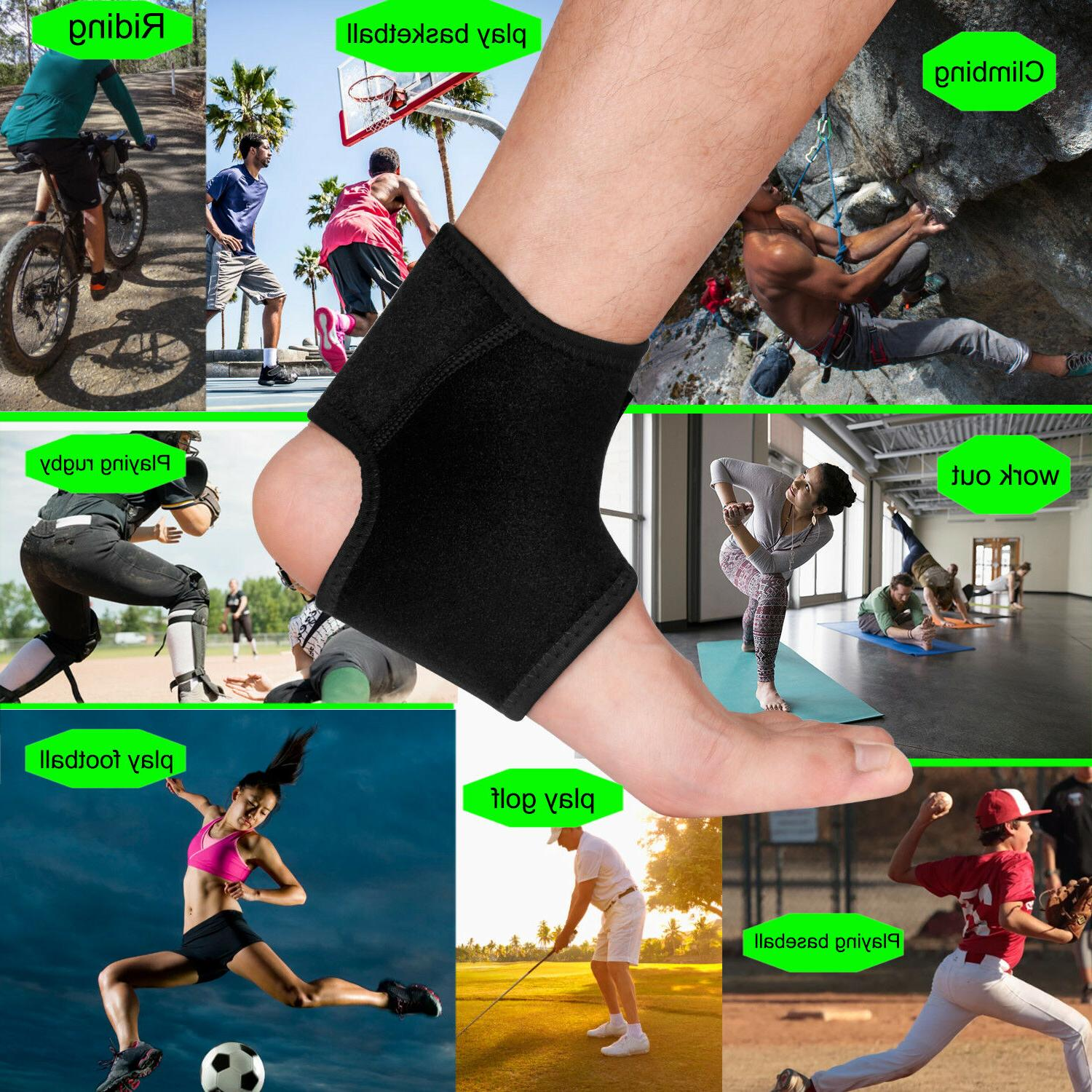 Right / Ankle Foot Brace Support Sprain Sports Basketball