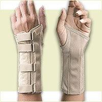 FLA Orthopedics SoftForm Light Support Elegant Wrist Brace.