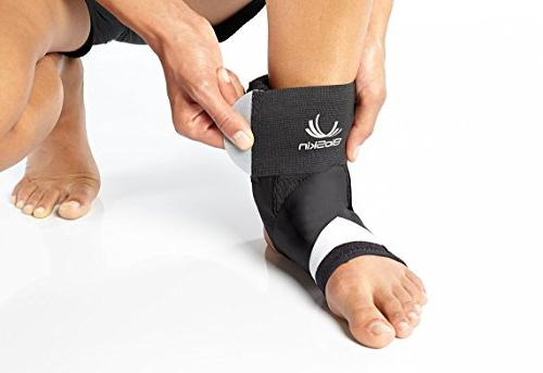 Trilok Ankle Versatile for PTTD, Ankle Sprains, Fasciitis Pain Lightweight Comfort and Stability without By BioSkin