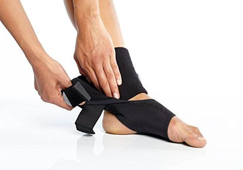 Trilok Ankle Versatile Support for PTTD, Ankle Sprains, Fasciitis Lightweight Comfort Stability Control without Laces BioSkin