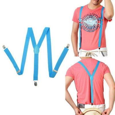 Unisex Y-Shape Braces Mens Womens Suspenders US