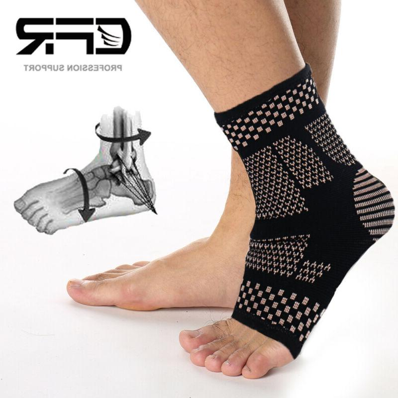 Copper Compression Sleeve Foot Pain Relief HG