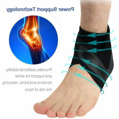 Adjustable Sports Elastic Ankle Brace Support Basketball Pro