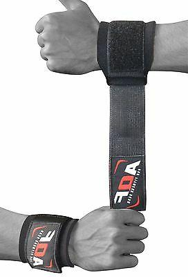 wrist brace support gym straps weight lifting