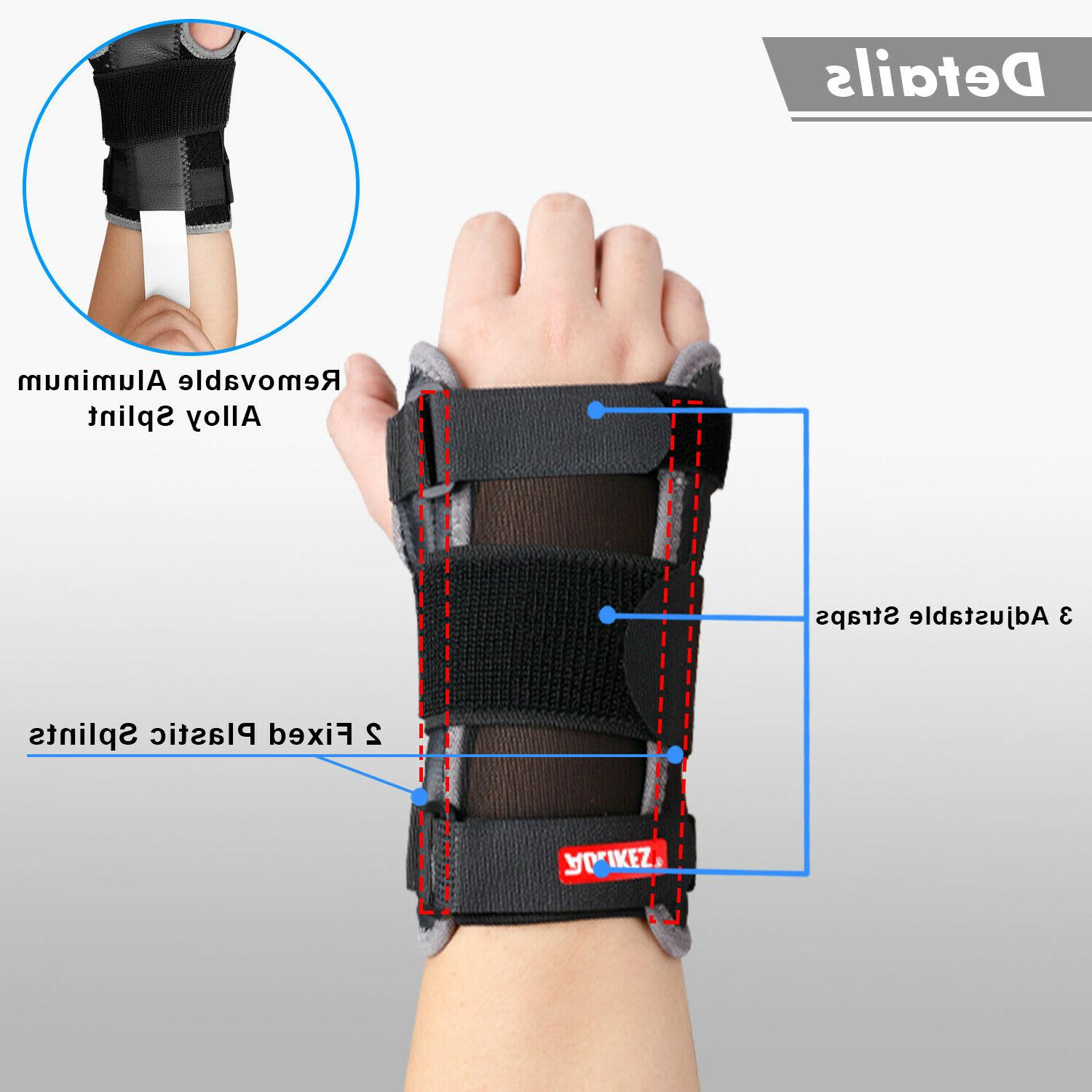 Wrist Hand Support Carpal Tunnel Gym Left