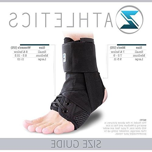 Zenith Up Support For Running, Injury Recovery, Sprain! Ankle Wrap for Children