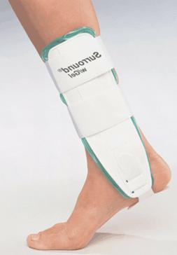 Large -  Air/Gel Ankle Support Brace Splint Guard Cast - FRE