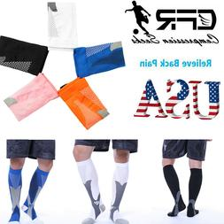 Leg Support Brace Sports Compression Socks For Running Hikin