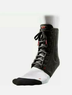 McDavid Level 3 Ankle Brace Lace up w/Stays Black Size Mediu
