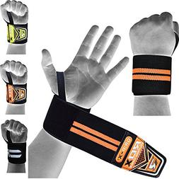 RDX Weight Lifting Wrist Wraps Gym Straps Crossfit Bodybuild