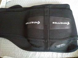 Mueller Lumbar Support Back Brace with Removable Pad,Regular