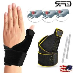 Medical Thumb Wrist Brace Support Carpal Tunnel Arthritis Sp