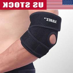 MEN Gym Fitness Elbow Brace Sport Support Arm Wrap Golfers B