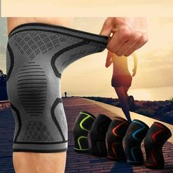 Men Knee Support Pad Plus Size Fitness Running Cycling Elast