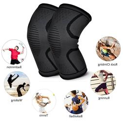 Men's Knee Recovery Compression Sleeve Support Knee Brace -