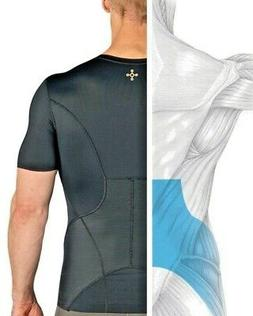 Tommie Copper Mens Lower Back Pain Brace Support Shirt Pro F
