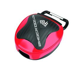 Shock Doctor Mouth Guard Case, RED