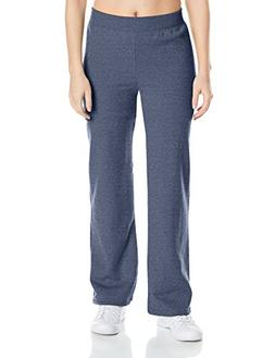 Hanes Women's Middle Rise Sweatpant, Hanes Navy Heather, Sma