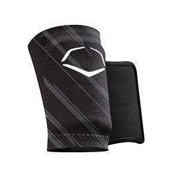 EvoShield MLB Protective Speed Stripe Wrist Guard, Black, La